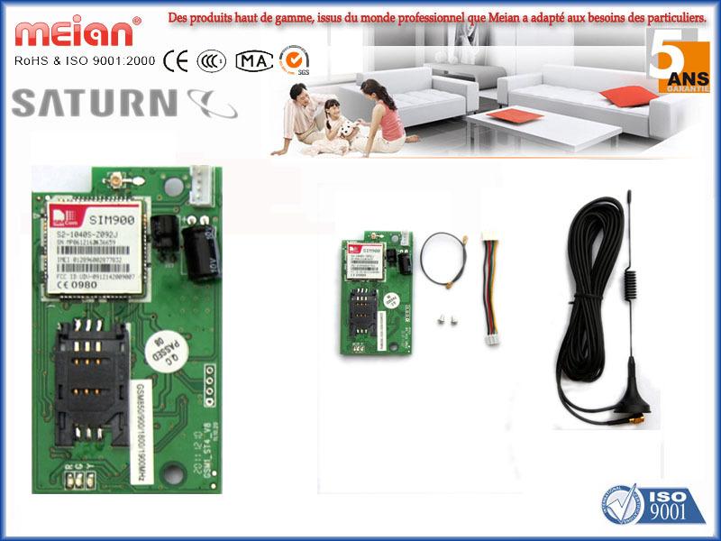 Systeme d alarme sans fil gsm avec transmetteur for Systeme d alarme pour piscine