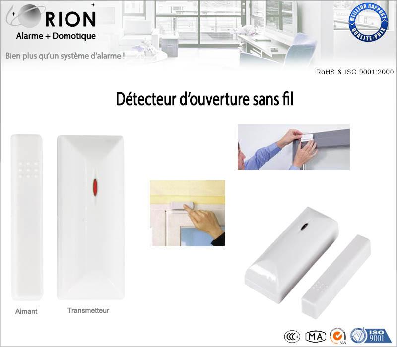 Pack alarme maison sans fil gsm ip meian orion ip pr t for Installer une alarme sans fil