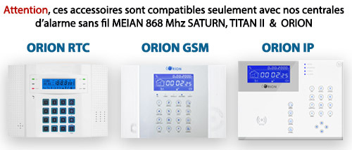 alarme 868 mhz
